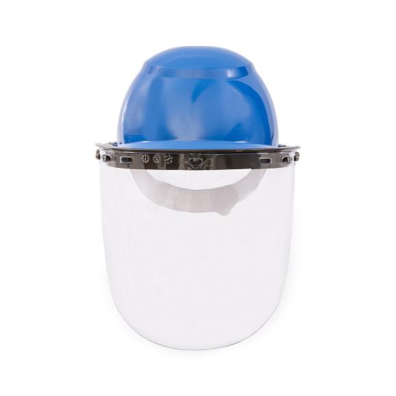 Protetor Facial Incolor com Capacete Azul - Camper 1
