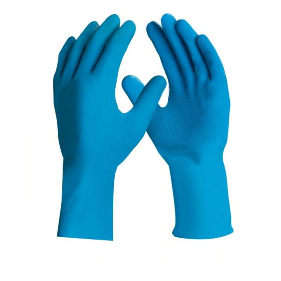 Luva de Látex Silver Grip Azul DA360 - Danny 1