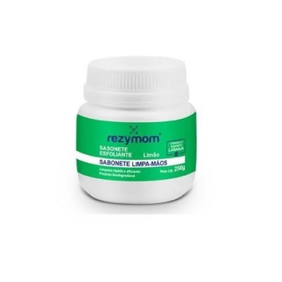 Sabonete Esfoliante Limpa Mãos Limão - Rezymom 1