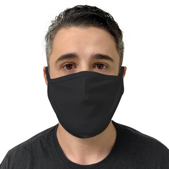 Máscara de Tecido Reutilizável e Lavável Preta - Protector 1