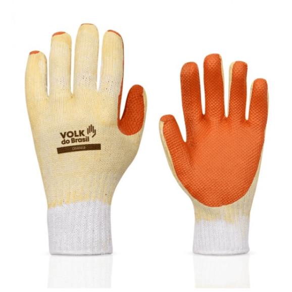 Luva Emborrachada Orange Volk 1