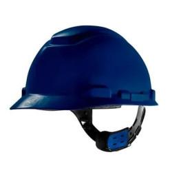 Capacete Classe A e B Azul Escuro com Ajuste Fácil - 3M