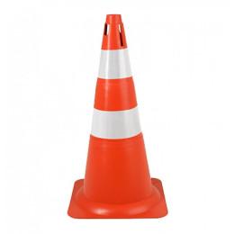 Cone Refletivo Laranja e Branco 70 cm Delta Plus 1