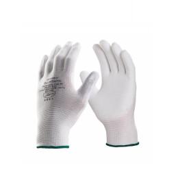 Luva de Poliamida Tátil Flextáctil Branca DA12100 Danny 1
