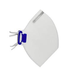 Respirador PFF2 Branco sem Válvula - Tayco (100 Unidades)