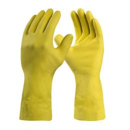 Luva de Látex Silver Grip Amarela DA360 - Danny (12 Pares)